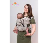 """Май-слинг """"Газета"""" для новорожденных"""