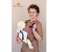 """Май-слинг """"Пудра и банан"""" для новорожденных"""