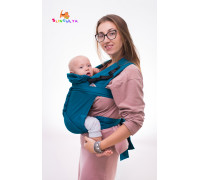 """Май-слинг """"Изумруд"""" для новорожденных"""