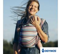Слинг-шарф Didymos Colored Stripes 353 Cleo (Клео)