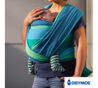Слинг-шарф Didymos Colored Stripes 308 Iris (Ирис)